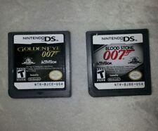 NDS GoldenEye 007 & Blood Stone 007 James Bond Nintendo DS