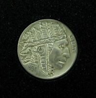 ".HOBO NICKEL 1930 ""INDIAN CHIEF"" SIGNED by J ALLEN. #6"