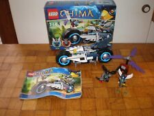 Lego lot Legends of Chima 70007 Eglor's Twin Bike 100% complet
