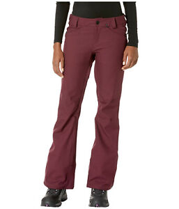 Volcom Species Stretch Womens Snowboard Snow Ski Pants Merlot Burgundy Medium XL