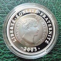 SILVER COIN 2003 - NAPOLEON I - FRANC GERMINAL