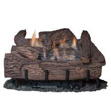 Brand New! 24 Inch Palmetto Oak 6-Piece Log Set & Lp Millivolt Control Burner