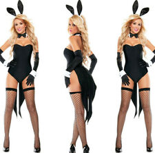 Sexy Halloween Bunny Suit Bodysuit Costume Women Ships From USA