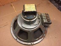 """Vintage Seeburg HFAS1-12 12"""" Coaxial Jukebox Speaker 1950s Jensen Works Mostly"""