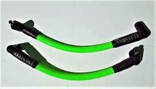TWISTED 12mm GREEN SPARK PLUG WIRES HARLEY FXR SUPER GLIDE FXRS LOW RIDER FXLR