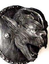 Nosferatu Vampire Head Iron Sculpture Wall Mount Art Decor Collection Gift