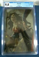 DCeased #5 CGC 9.8 2019 Con  Wonder Woman Joshua Middleton cover/silver cover DC