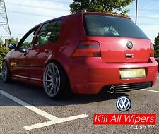 Rear / Back Dewiper Blank Bung Delete Kit - VW Golf MK4 - GTi / R32 / TDi  Etc