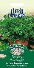 Mr Fothergills - Pictorial Packet - Herb - Parsley Moss Curled 2 - 1000 Seeds