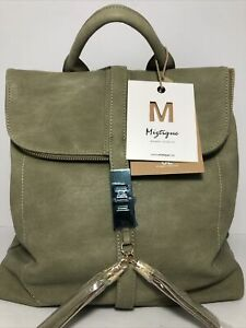 Miztique Handbags Totes Green  Fashion Backpack New