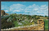 Norfolk Postcard - The Sunken Gardens, West Parade, Cromer   DR97
