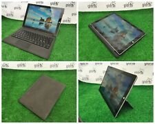 """Microsoft Surface Pro 3 1631 12"""" Tablet Touch i5 4th 4GB 128GB SSD Win 10 Keyb."""