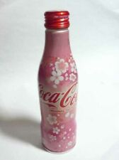 "COCA COLA Metal Bottle JAPAN 300ml SAKURA Cherry Blossom 2019 Rare 7"" Tall"