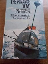 Vtg 1st Ed THE PENANCE WAY Tragic Rowing Atlantic Voyage in PUFFIN Boat 1966