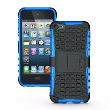 Apple iPod Touch 5 6 Trekking Handy Tasche Skidproof Reifen Tyre Cover Blau