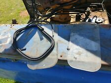 Land Rover Series 2 3 Rear Glass from a Hsrd Top Roof and 1 rubber
