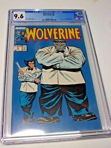 Wolverine #8 CGC 9.6 Classic Grey Hulk Mr. Fix-it Cover Claremont Buscema Sweet!