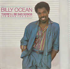 """BILLY OCEAN  There'll Be Sad Songs (To Make You Cry) PICTURE SLEEVE 7"""" 45 record"""