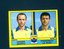Figurina Calciatori Panini 1988-89! N.458! Gnoffo/La Rosa! Licata! Nuova!