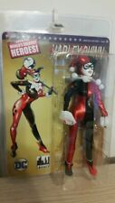 MOC 2017 HARLEY QUINN IN BLACK 8 inch FTC retro mego action figure DC COMICS