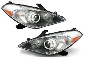 FIT TOYOTA SOLARA 2007-2008 RIGHT LEFT HALOGEN HEADLIGHTS HEAD LIGHTS LAMPS PAIR