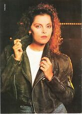 PAT BENATAR 'leather girl' magazine PHOTO/Poster/clipping 11x8 inches