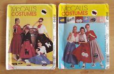2x McCall's Costume da cucire i modelli No.8899 e 9452 Gonna Sottoveste Jacket 12-14