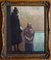 Peinture de HERMANN-PAUL (1864-1940) impressioniste