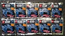 Lot  Lego Star Wars Vulture Droid ( 911723 )  x 10 polybag