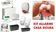ALLARME AMC ,GSM KIT IMPIANTO ALLARME CENTRALE+TASTIERA+SIRENE+SENSORI+BATTERIE