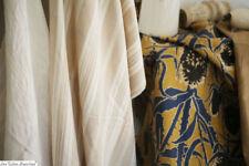 Bundle antique FABRICS lot CREATIVE KIT golden tones