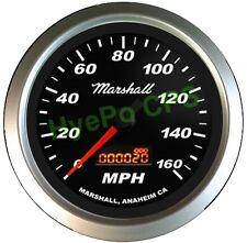 """Marshall 5052 3-3/8"""" Programmable Speedo-Black 270* Full Sweep Precision Stepper"""