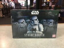 2018 Bandai Star Wars STORMTROOPER 1/12 Scale Plastic Model Kit Figure NIB - USA
