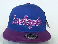 VINTAGE URBAN LOS ANGELES  FLAT PEAK HIP HOP SNAPBACK BASEBALL CAPS SUN HAT