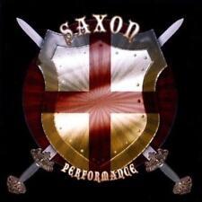 SAXON - PERFORMANCE (NEW & SEALED) Metal CD Rare Live Radio Broadcast