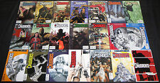 Modern Vertigo CRUSADES 21pc High Grade Comic Lot #1-20 + Urban Decree TPB