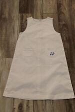 bonito vestido con cremallera verano algodón blanco CYRILLUS talla 10 años 140