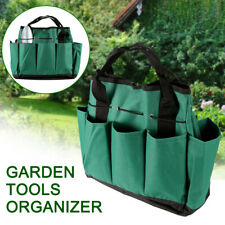 Multi Pocket Tote Garden Handle Tools Organizer Storage Bag Portable Backpack