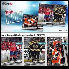 18-19 TOPPS NOW SET OF 3 HART/OVECHKIN/BERGERON Topps NHL Skate Digital Card