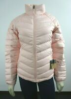 Womens The North Face TNF Flare Full Zip 550-Down Winter Packable Jacket - Pink