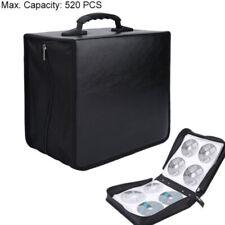 520PCS CD DVD Disc Carry Case Holder Protector Storage Bag Wallet Binder Sleeve