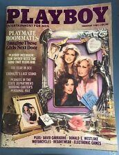 Playboy Magazine February 1981 Sondra Theodore Playmate Roomates Terri Welles