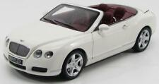 Scale model 1/18 Bentley Continental GTC 2006 White