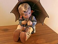 """8"""" HIGH HUMMEL 152/II/B UNBRELLA GIRL EXCELLENT EXCEPT FOR (2) REPAIRED CHIPS"""
