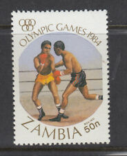 ZAMBIA 1984  Sc 307  boxing  Mint Never Hinged