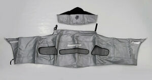 2003 Boxster S Speed Lingerie Front Mask Arctic Silver License Opening