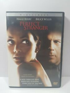 Perfect Stranger DVD 2007 Widescreen Rated-R Drama Halle Berry Bruce Willis