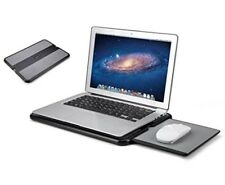 AboveTEK BEST LAPTOP COOLING PAD W/ MOUSE PAD & HEAT SHIELD LAPDESK TABLE COOLER