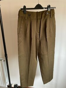 Reiss Khaki Trousers, Size 10, BNWOT.Brand new condition