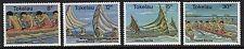 TOKELAU ISLANDS SG65/8 1978 CANOE RACING MNH